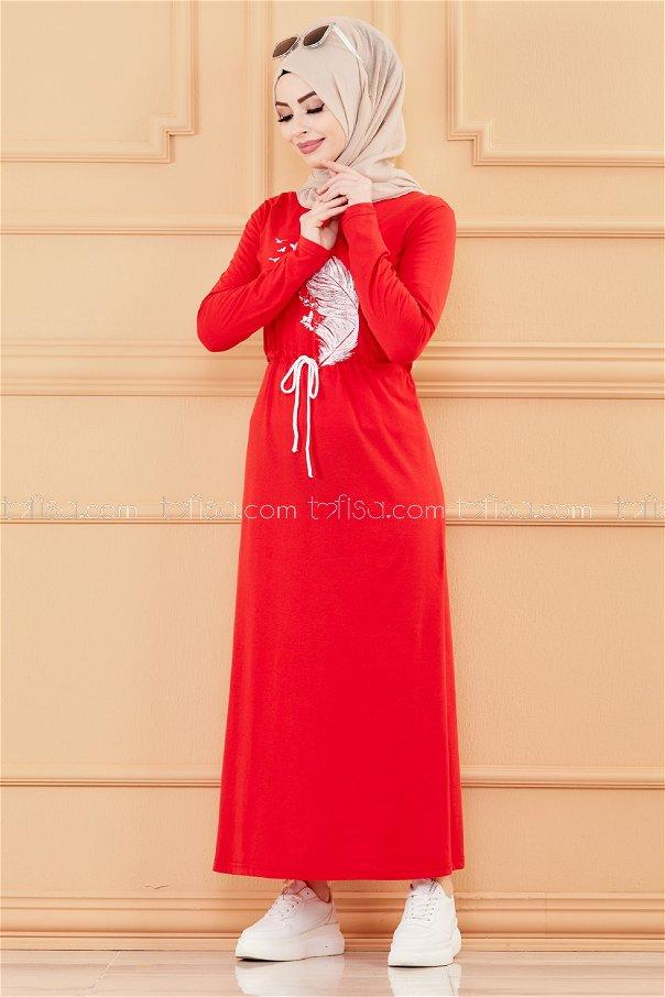 Dress RED - 3536