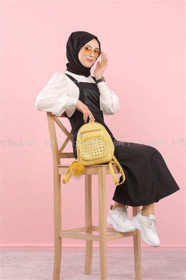 Dress Strapless black - 3006