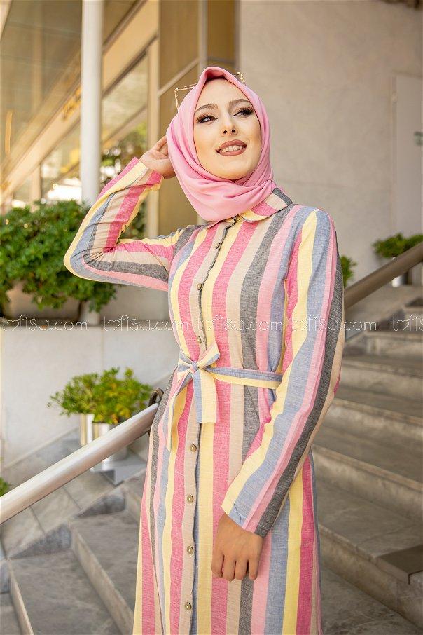 Dress Yellow Mink - 9057