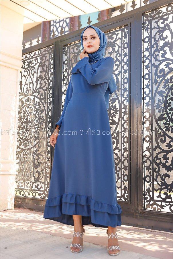 Elbise İndigo - 1363
