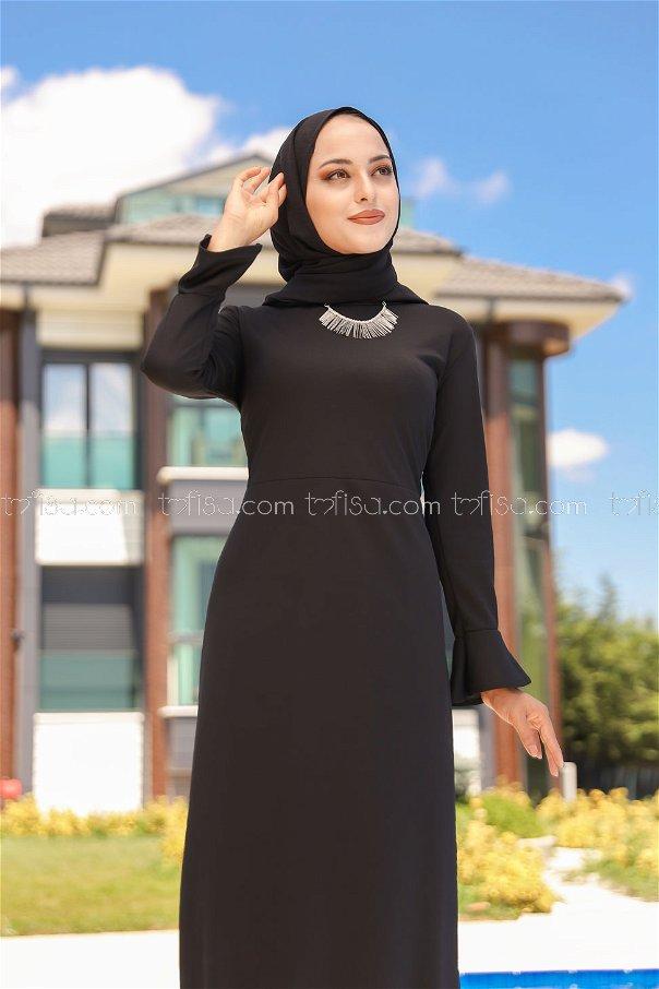 Elbise Siyah - 1363
