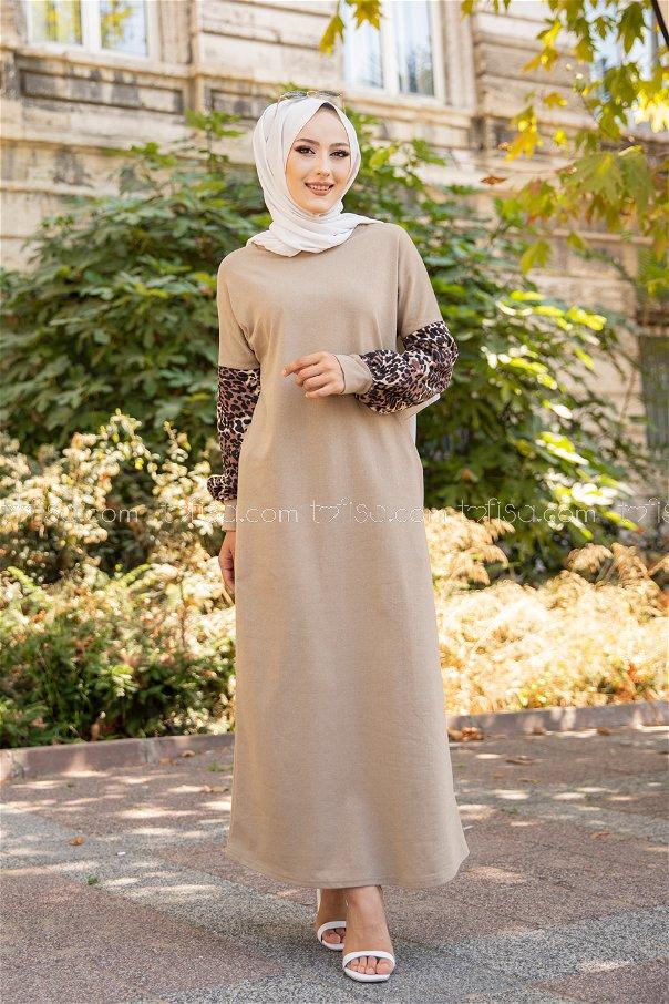 Elbise Bej - 3239