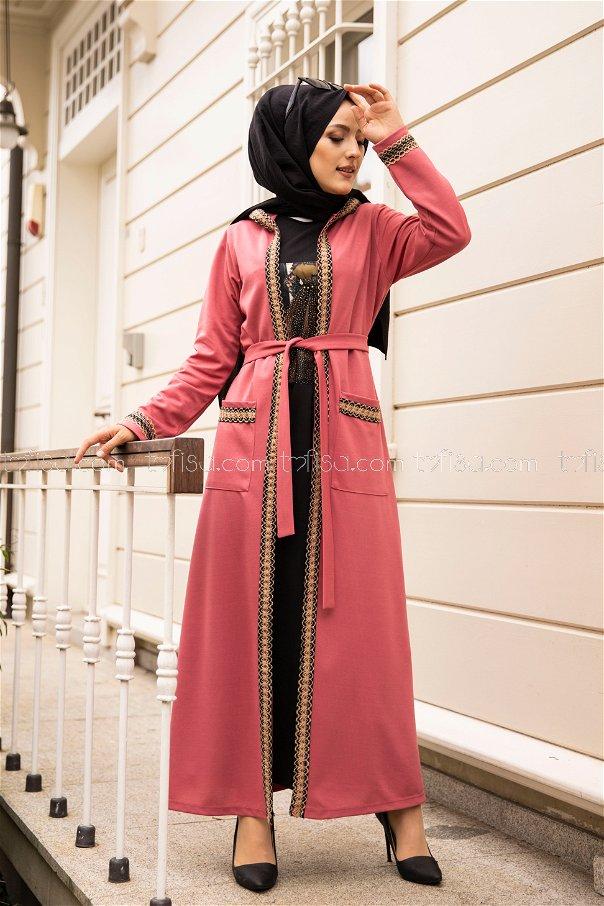 Elbise Ceket Gül - 9080