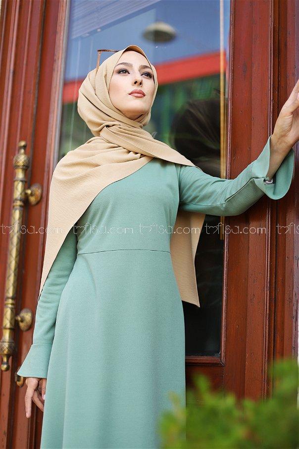 Elbise FıstıkYeşili - 1363