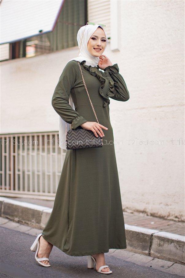 Elbise Haki - 3273