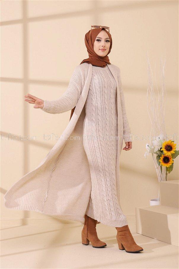 Elbise Hırka Taş - 8641