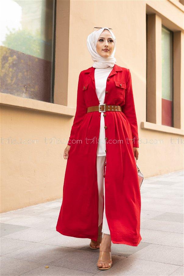 Elbise Kemer Kırmızı - 9055