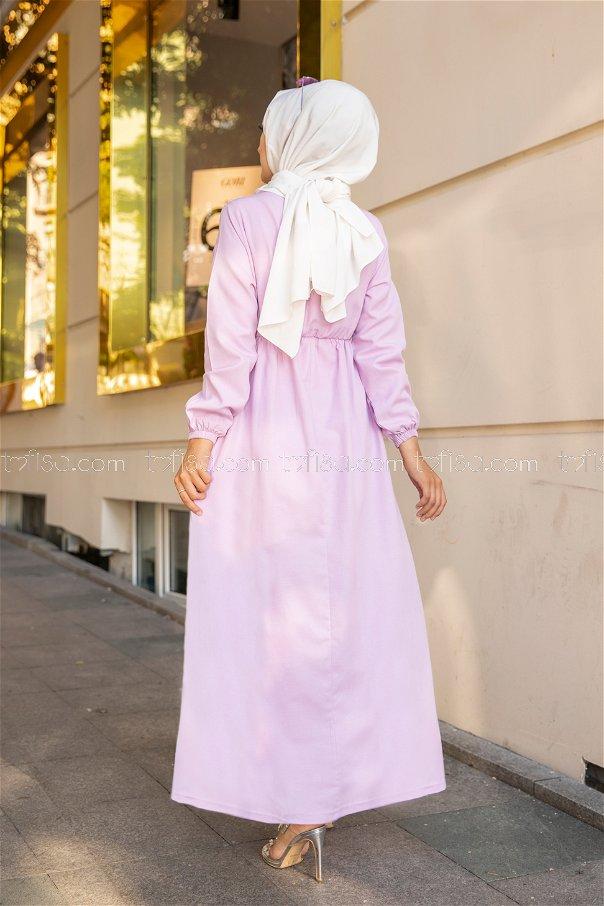 Elbise Lila - 8369