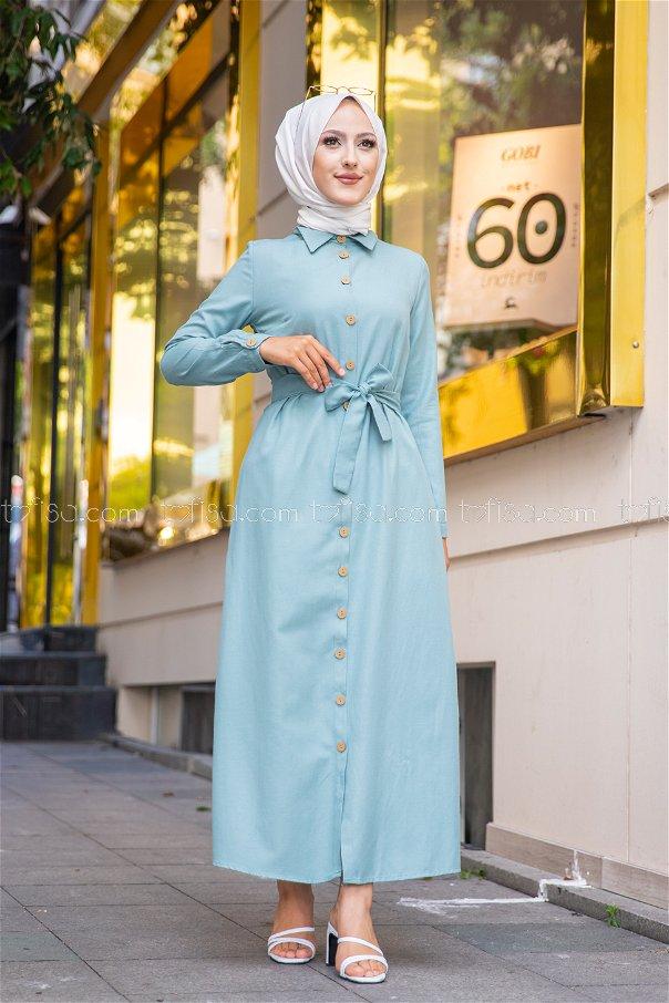 Elbise Mint - 3244