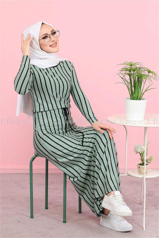 Elbise Mint - 5254