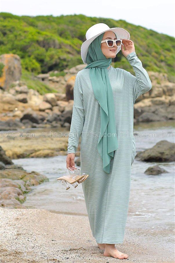 Elbise Mint - 5268