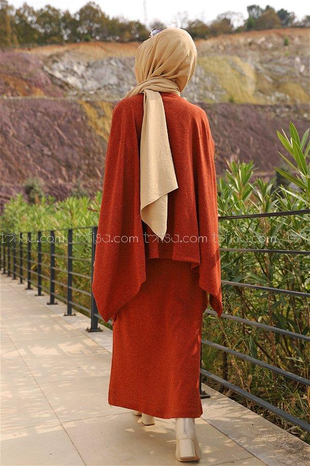 Elbise Panço Kiremit - 5276