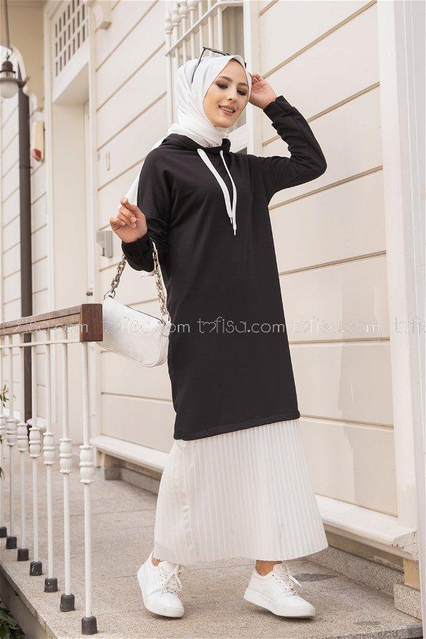Elbise Siyah - 3262