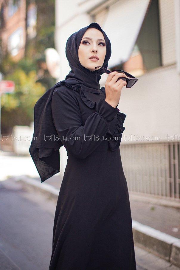 Elbise Siyah - 3273