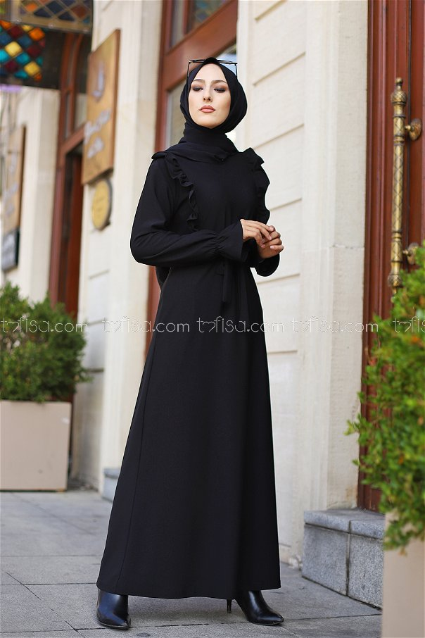 Elbise Siyah - 3291