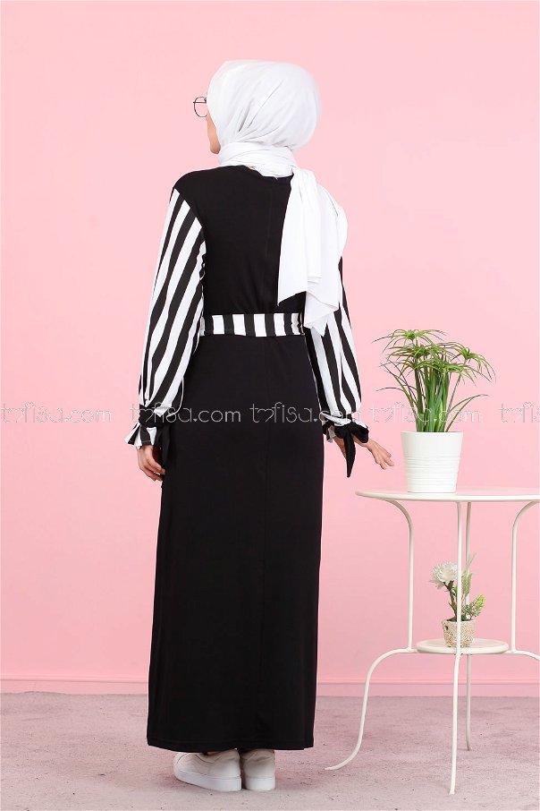 Elbise Siyah - 5261