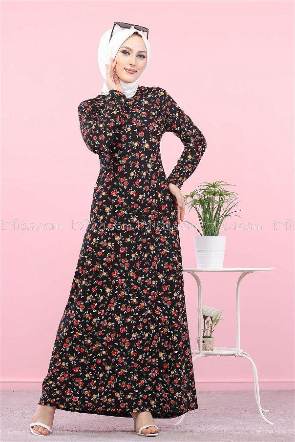 Elbise Siyah - 8512