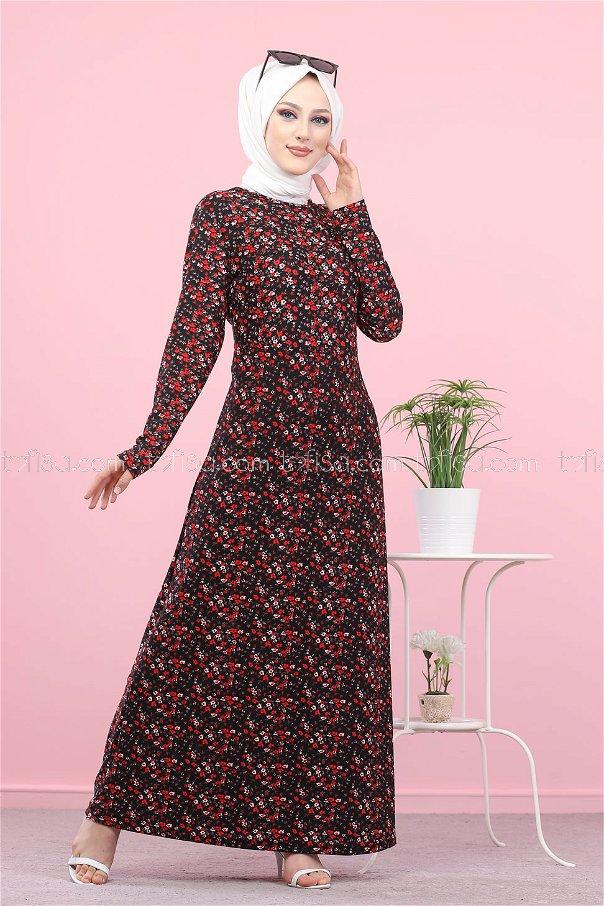 Elbise Siyah - 8516
