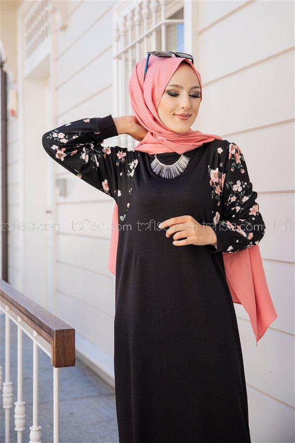 Elbise Siyah - 8576