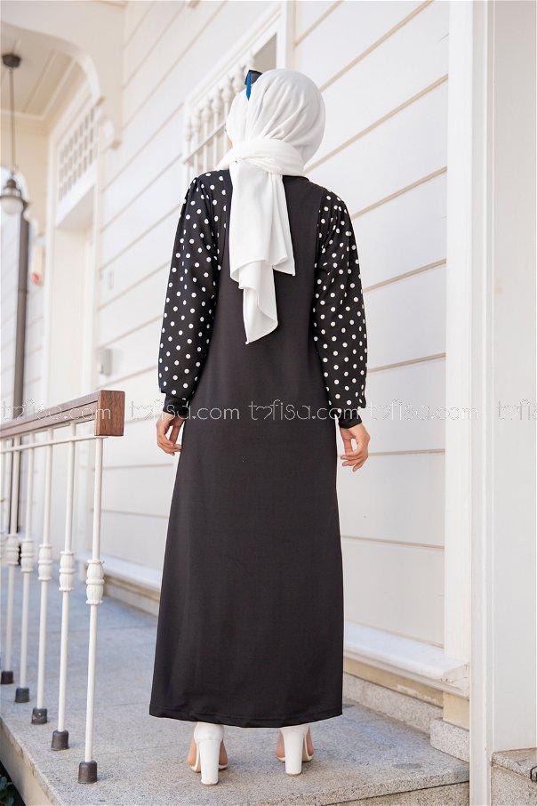Elbise Siyah - 8579