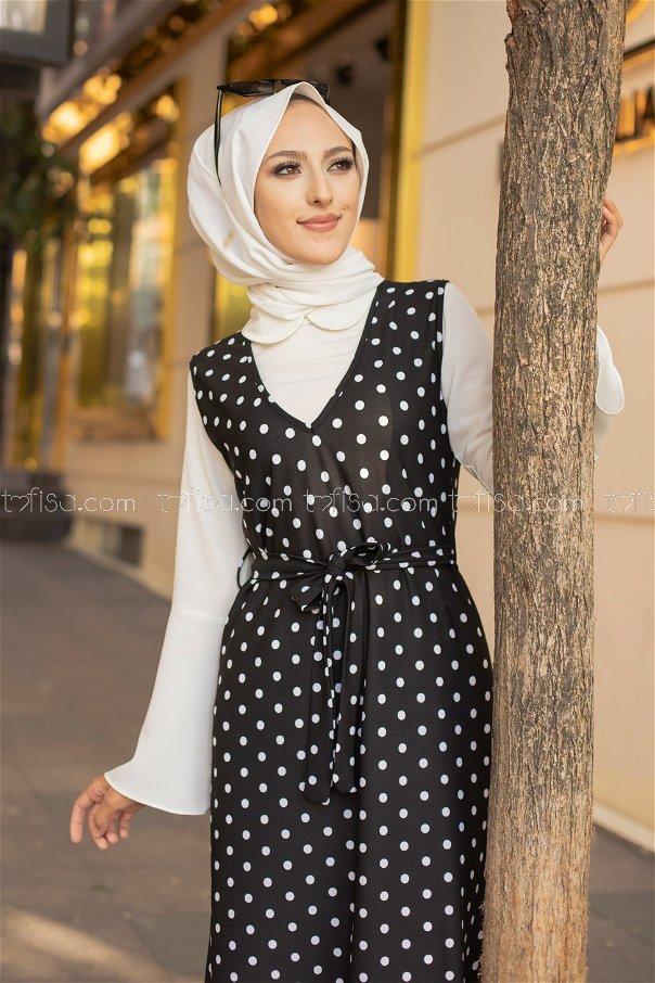 Elbise Siyah - 8600