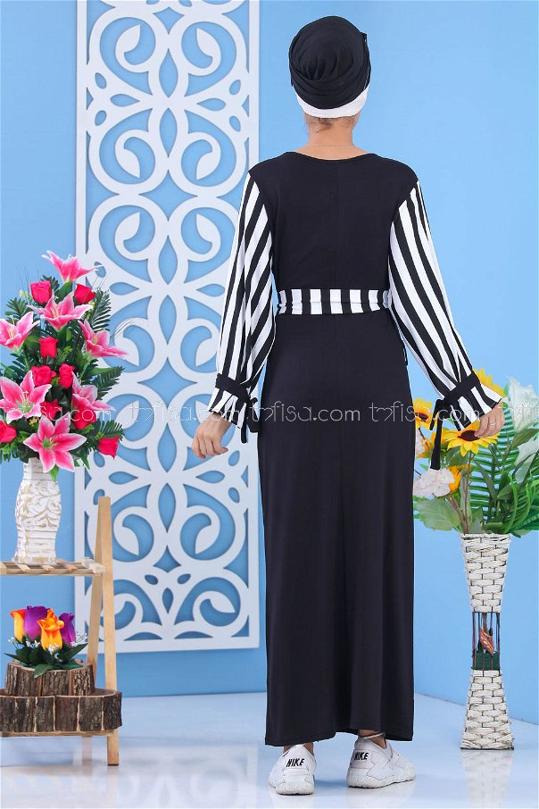 Elbise Siyah Siyah - 03 5140