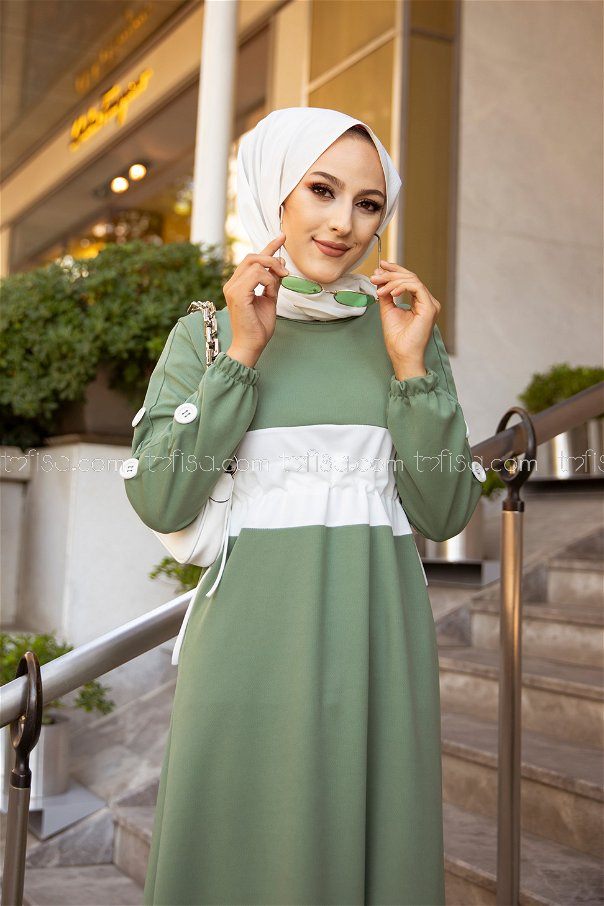 Elbise Yeşil - 3280