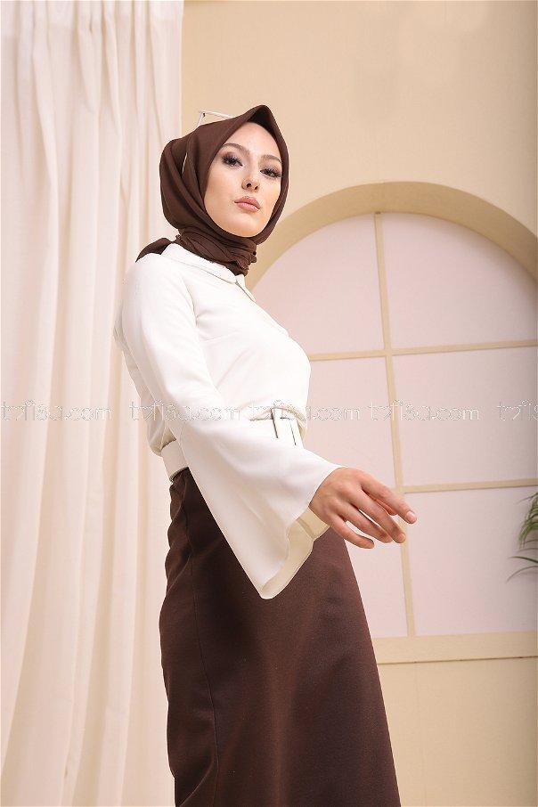 Etek Koyu Kahve - 3366