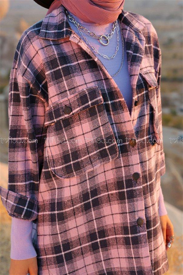 Fakir Kol Oduncu Gömlek Lila - 13200