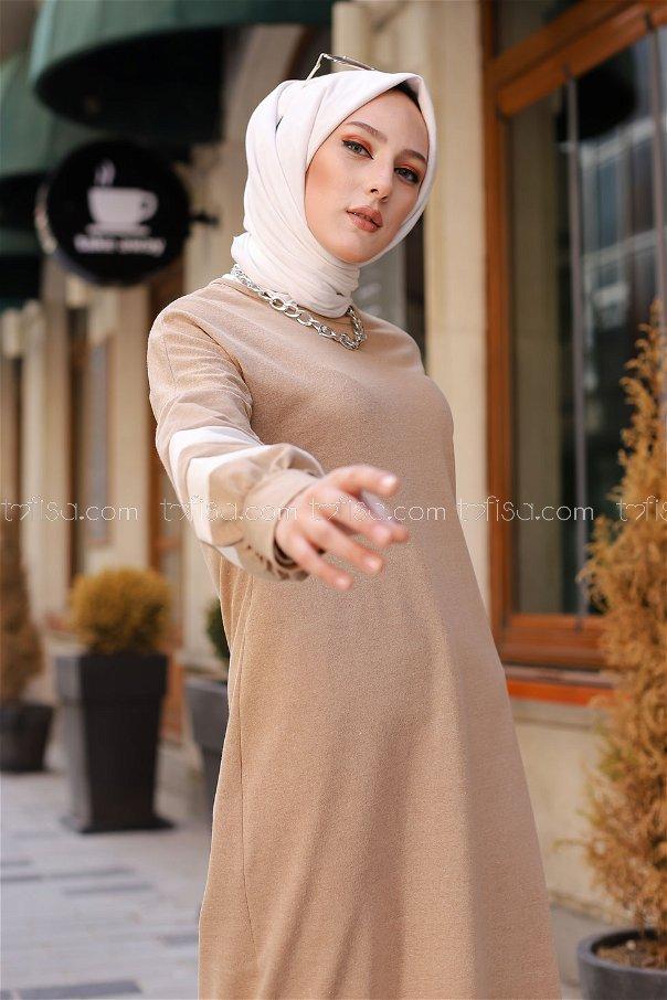 Elbise Bej - 4134