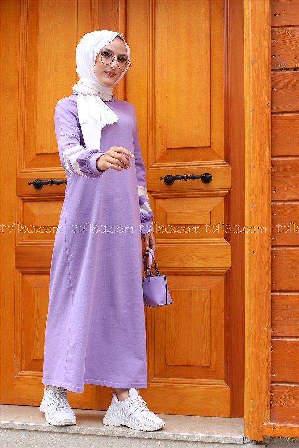 Elbise Lila - 4134