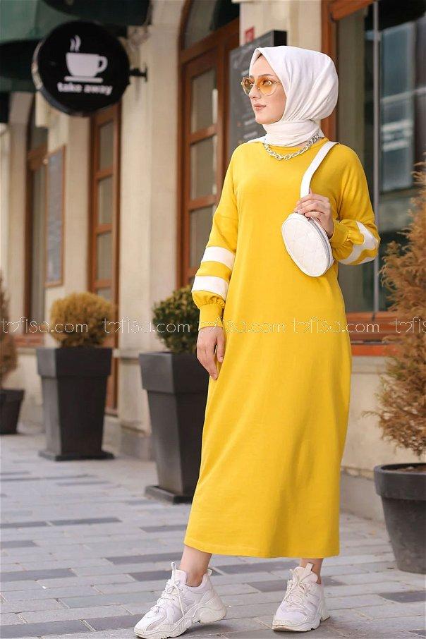 Elbise Sarı - 4134