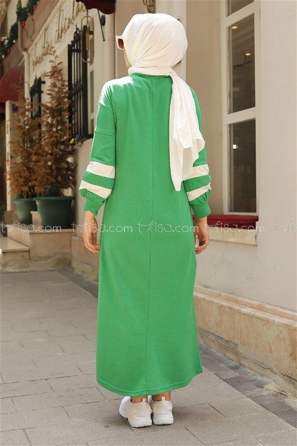 Elbise Yeşil - 4134