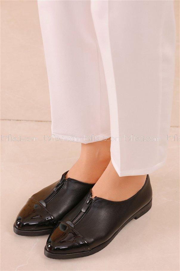 Fermuarlı Ayakkabı SIYAH - 20623