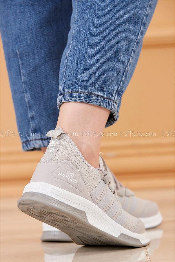 Fılelı Spor Ayakkabı GRI BEYAZ - 20219