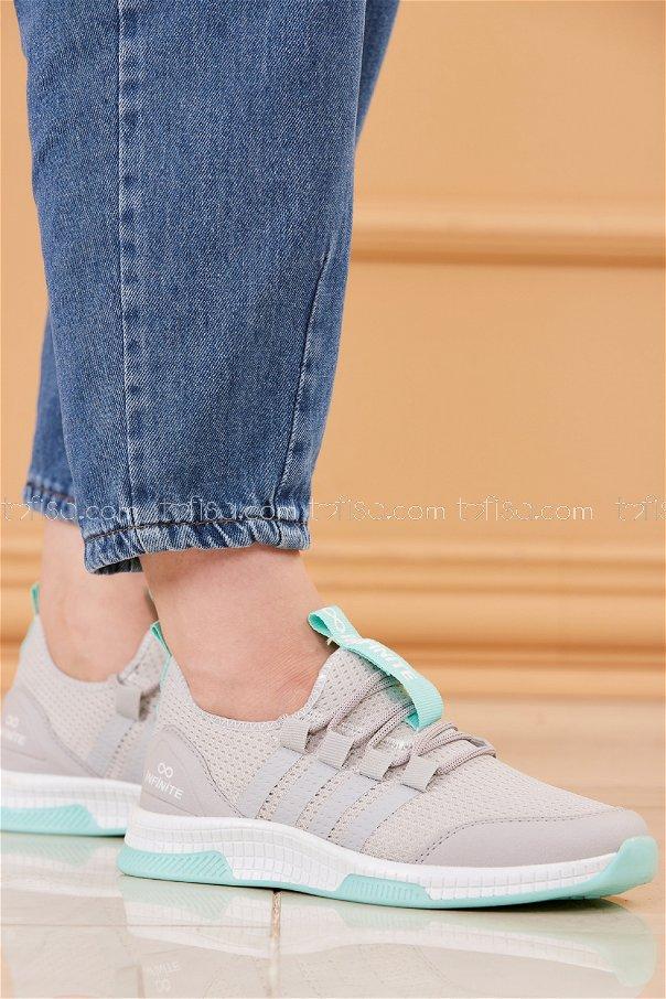 Fılelı Spor Ayakkabı GRI MINT - 20219