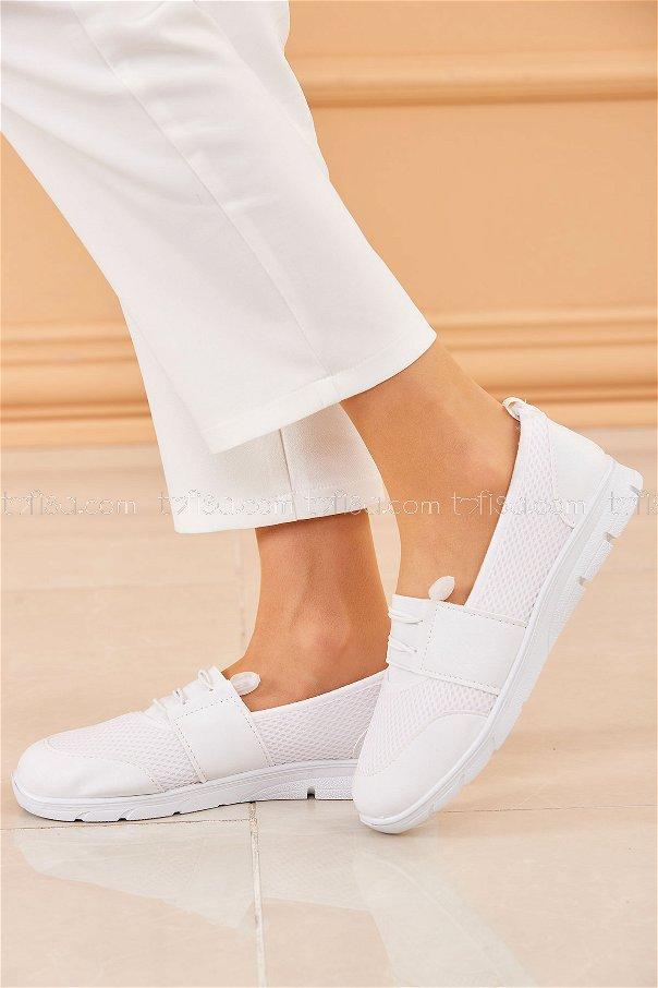 Flıle Ayakkabı BEYAZ - 20136