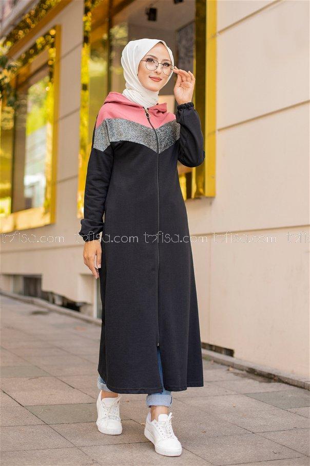Ferace Siyah Gül - 3088