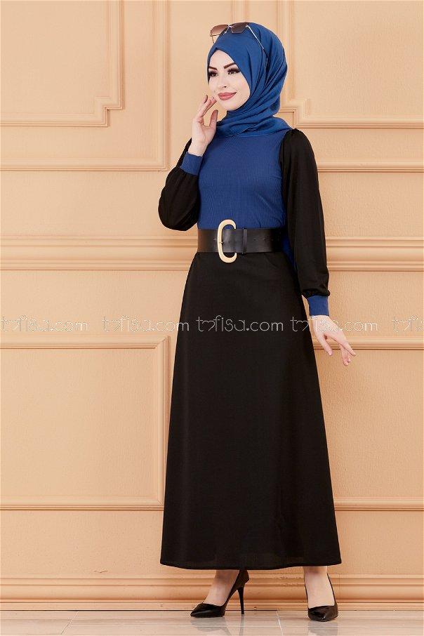 Garnished Dress OIL - 3508
