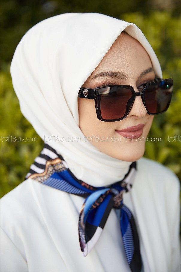 Glasses dark blue - 20678