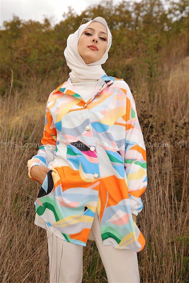 Gömlek Oranj - 9066