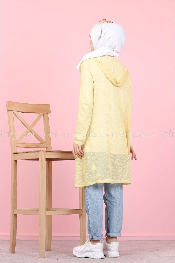Hırka Tunik Sarı - 3047