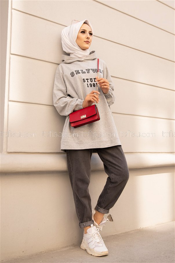 Hooded Sweat Grey - 3322