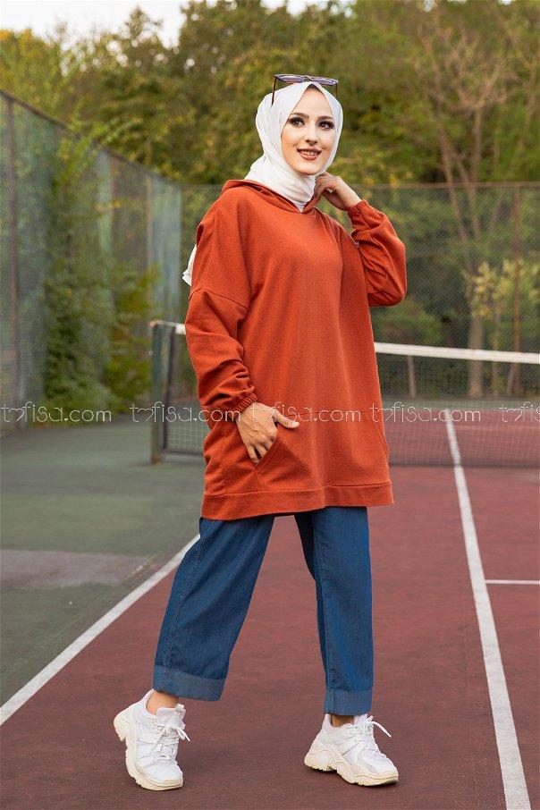 Hooded Sweatshirt Tile - 3258