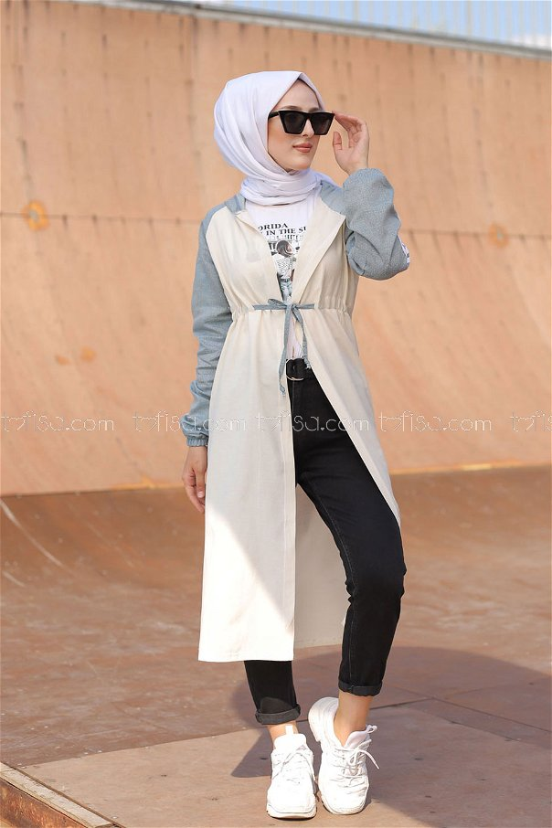 Hooded Tunic Blue - 3059