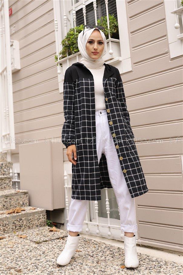 Hooded Tunic Ecru - 8609