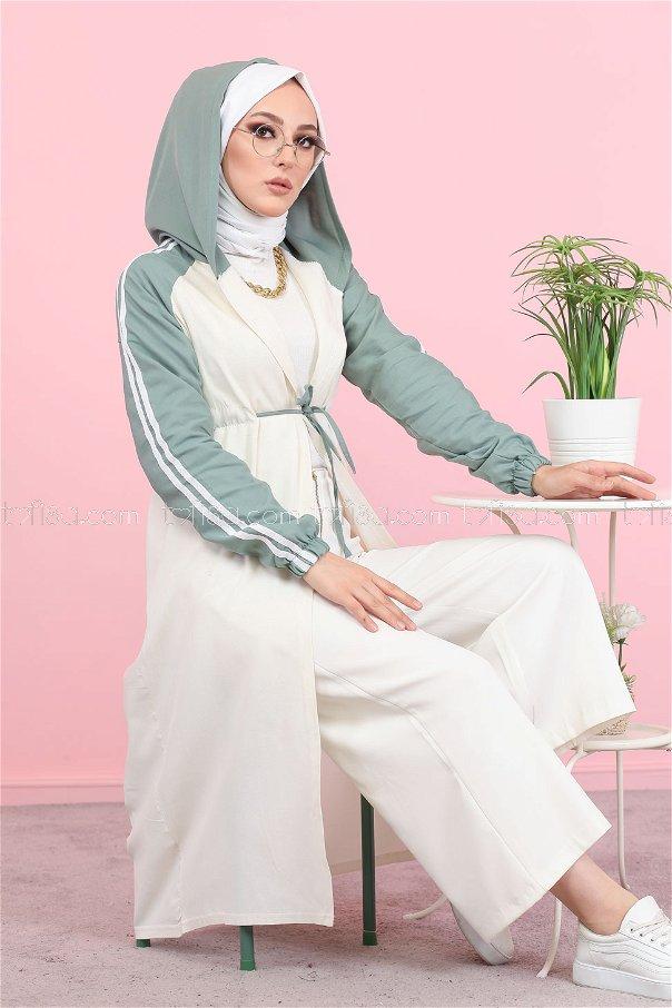 Hooded Tunic Mint - 3059