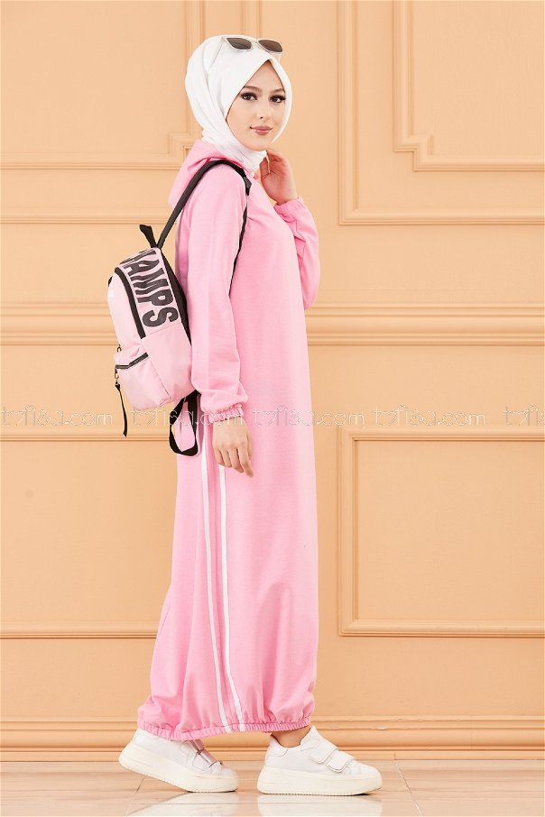 Hooded Tunic Pink - 5257