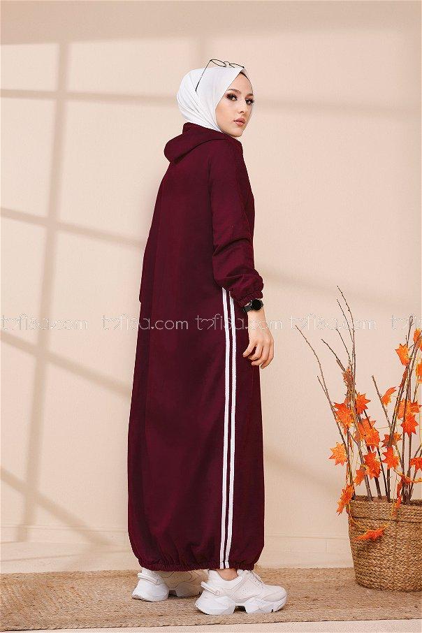 Hooded Tunic Purple - 5257