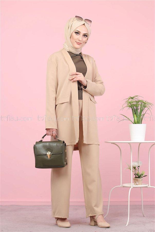 Jacket and Pants Mink - 8398